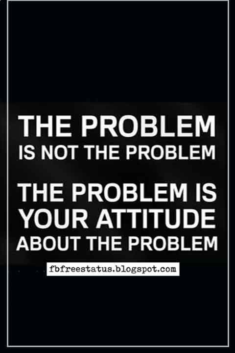short quotes on attitude images