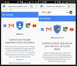 ganti sandi akun gmail