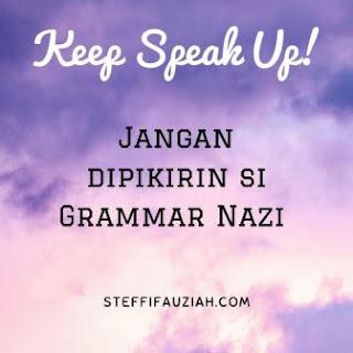 Berbicara & Menulis Pakai Bahasa Inggris, Siapa Takut!