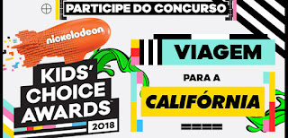 "Concurso Cultural ""Kids' Choice Awards"" 2018"