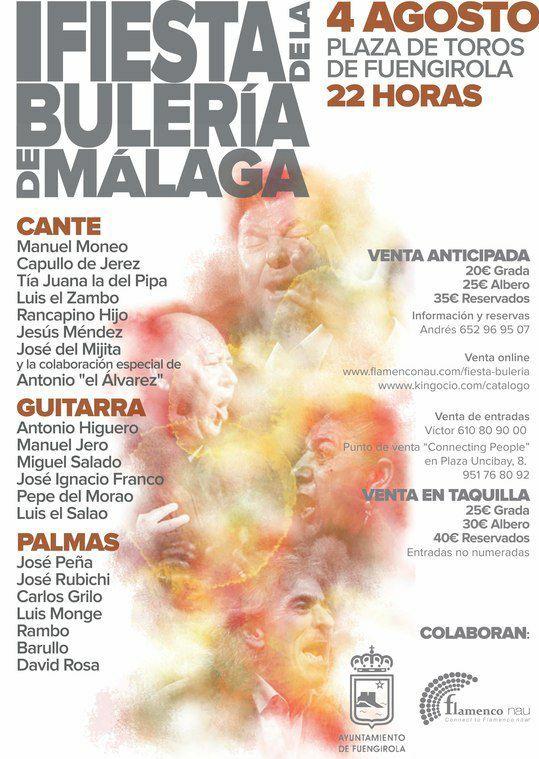 680f19bc2 Festivales Flamencos: I FIESTA DE LA BULERÍA DE MÁLAGA PLAZA DE ...