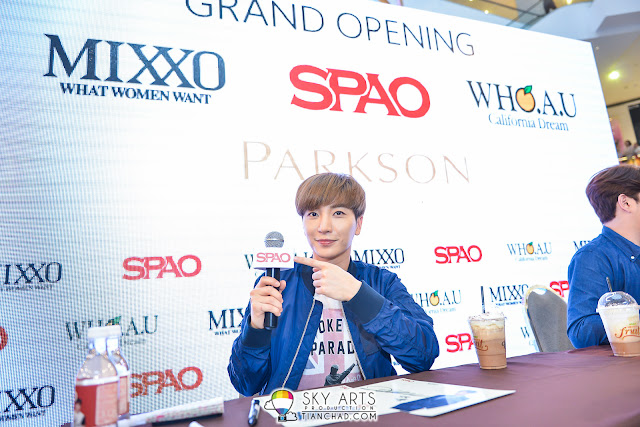 LeeTeuk and SPAO in Pavilion KL