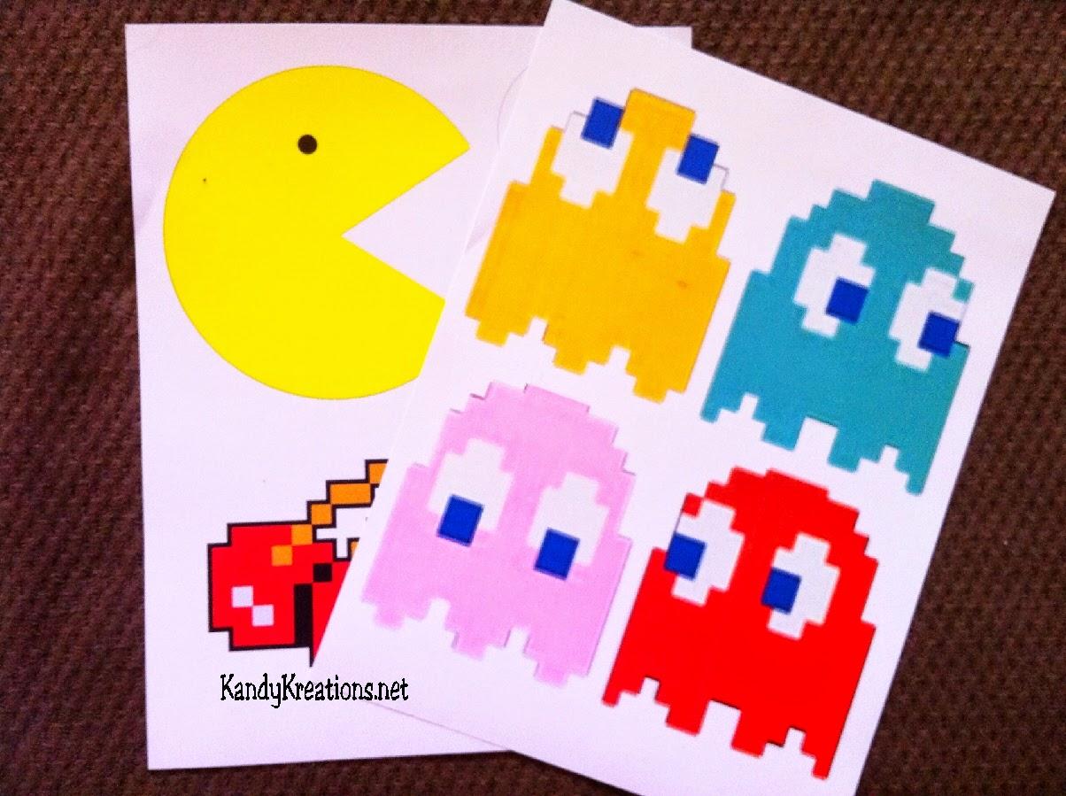 Fresh Pac Man Pennant Banner | Everyday Parties AQ15