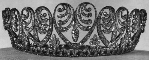 Królewska Biżuteria Danii - The Baden Palmette Tiara
