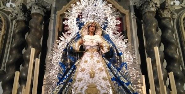 Horario y recorrido de la procesión del Amor Hermoso en Cádiz este 15 de Agosto