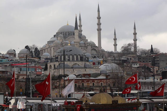 Turkey Facts -Interesting Facts About Turkey Country- Süleymaniye Mosque Stanbul