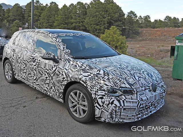 Novo VW Golf 2020 mk8
