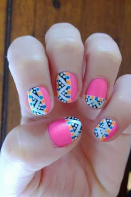 PINK WINTER NAIL DESIGNS AND IDEAS YOU WISH TO TRY
