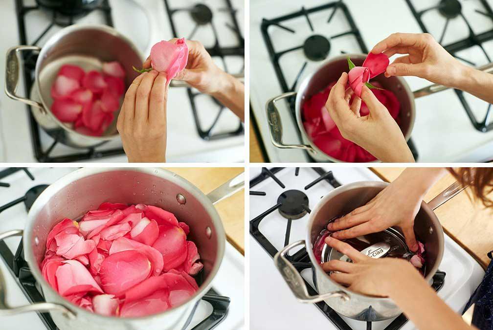 Comment faire votre eau de rose à la maison DIY