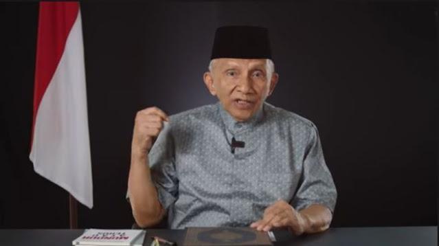 FPI Dibubarkan, Amien Rais: Hati-hati ya Mahfud MD