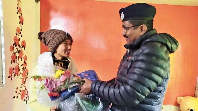 Police helping hand for hill runner, Rs 7,500 a month for Darjeeling's Preity Rai