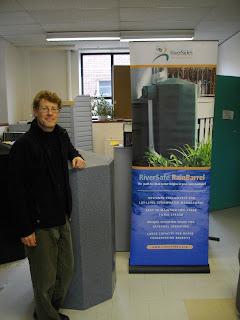 Riversides rain barrel soaker hose rainwater management eco-friendly