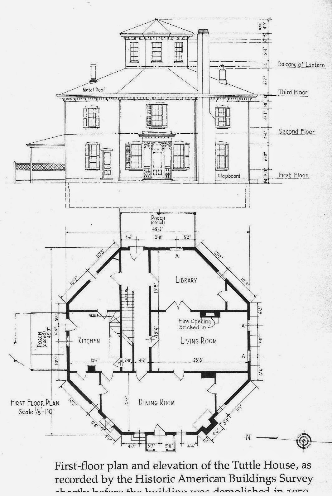 The House History Man The Other Octagon House In