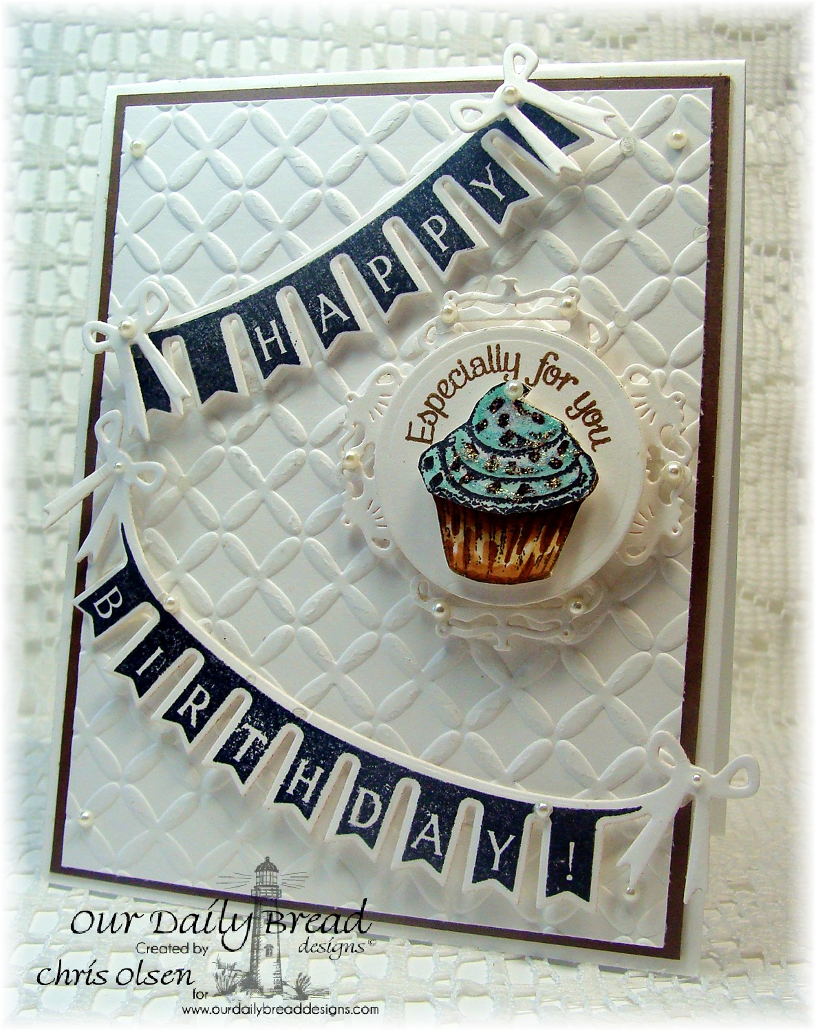 Stamps - Our Daily Bread Designs Pennant Swag 2, Baking Gift Tags, ODBD Custom Pennant Swag Die, ODBD Custom Recipe Card and Tags Dies