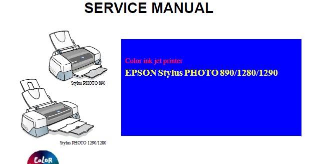 epson stylus photo 1290 service manual download service manual rh servicemanualguidepdf blogspot com Epson R800 Epson Stylus