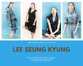 aktris korea yang fashionable
