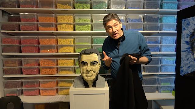 Dirk Denoyelle, Amazings, sculptures, Lego, artwork
