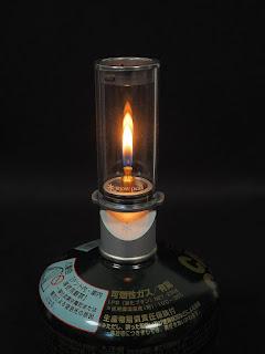 スノーピーク リトルランプ ノクターン 火の大きさ