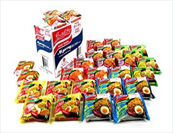Indomie Variety Pack Case Bags 6 Flavor