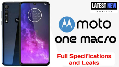 Moto One Macro Specifications
