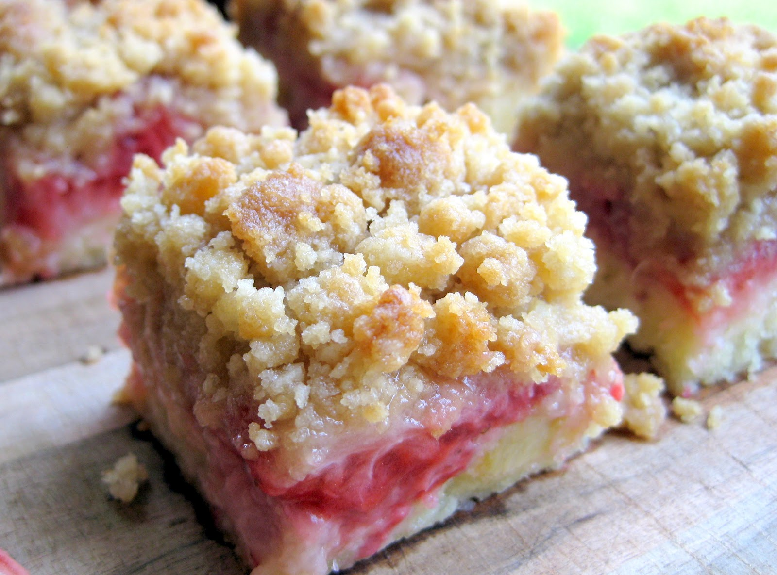 Easy Vegan Strawberry Rhubarb Cake