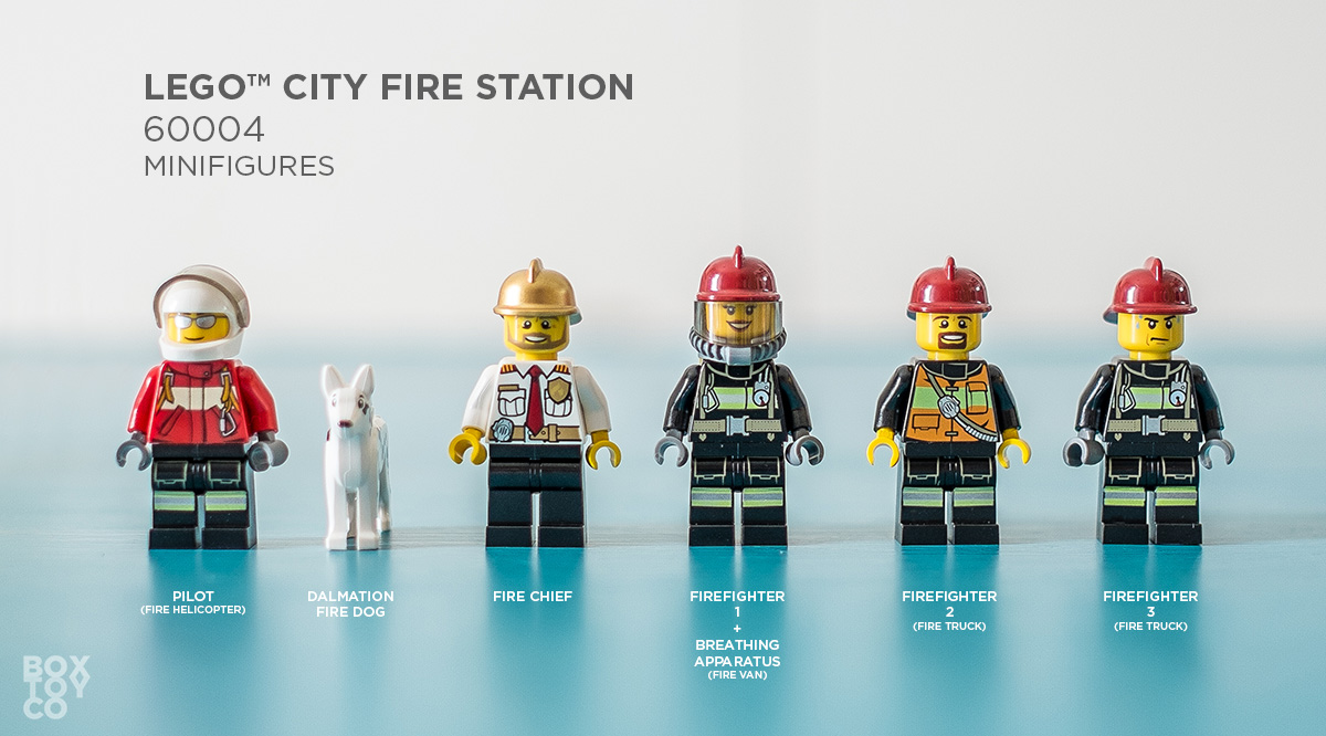 Lego 174 City Fire Station 60004 Review Boxtoy Co