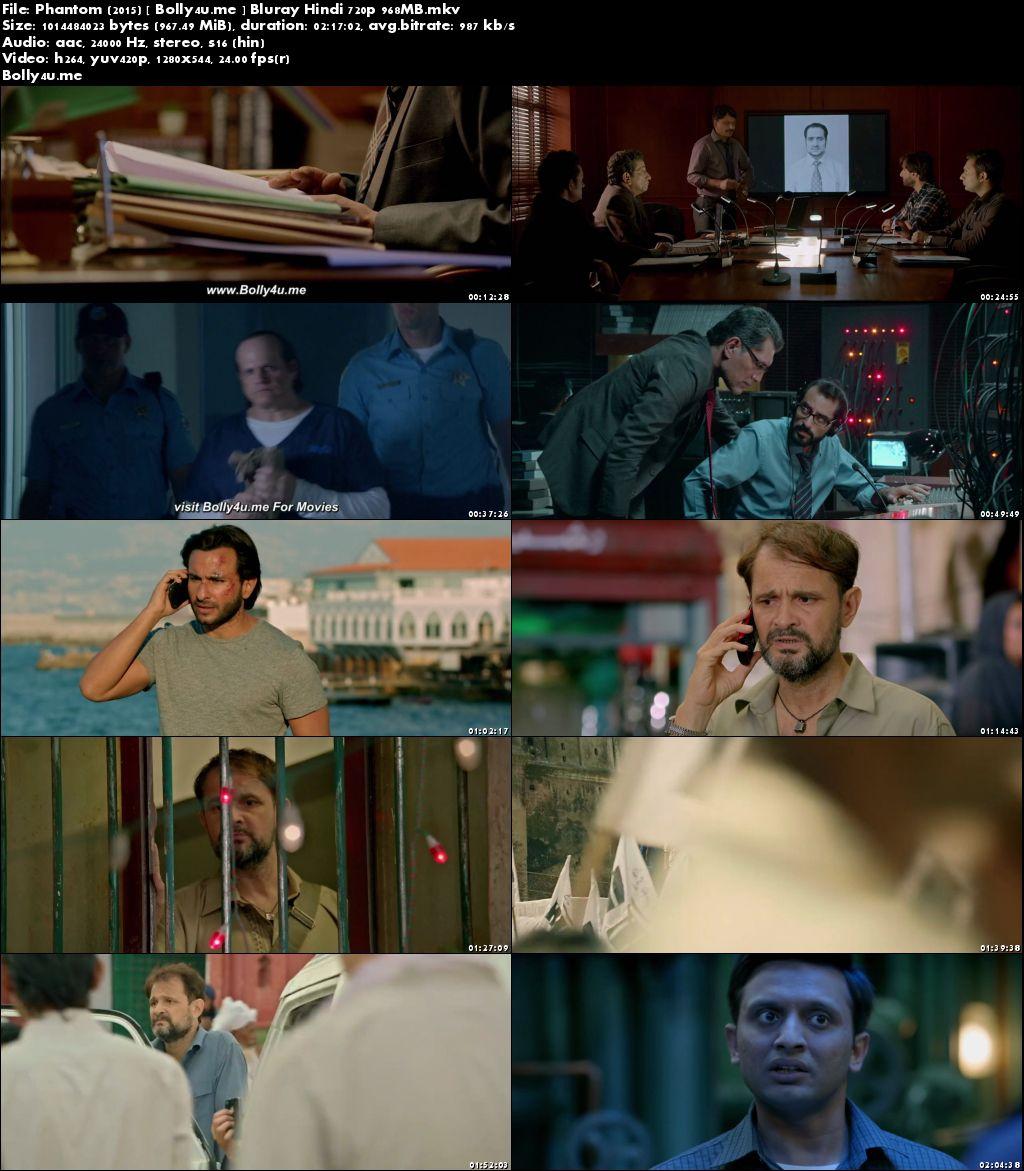 Phantom 2015 BluRay 400MB Full Hindi Movie Download 480p