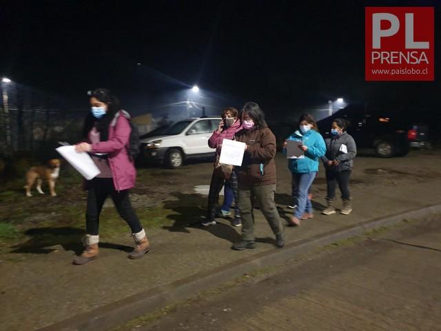 Realizan marcha exploratoria nocturna de Seguridad en Futaleufú