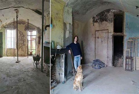 Απίστευτο: Άνεργος αγόρασε σπήλαιο με 1€ και το έκανε παλάτι! (PHOTOS)