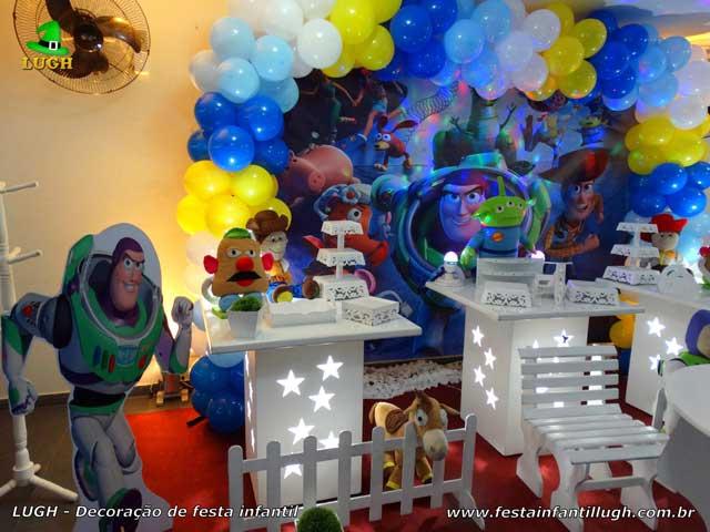 Decoração de aniversário tema Toy story - Festa infantil