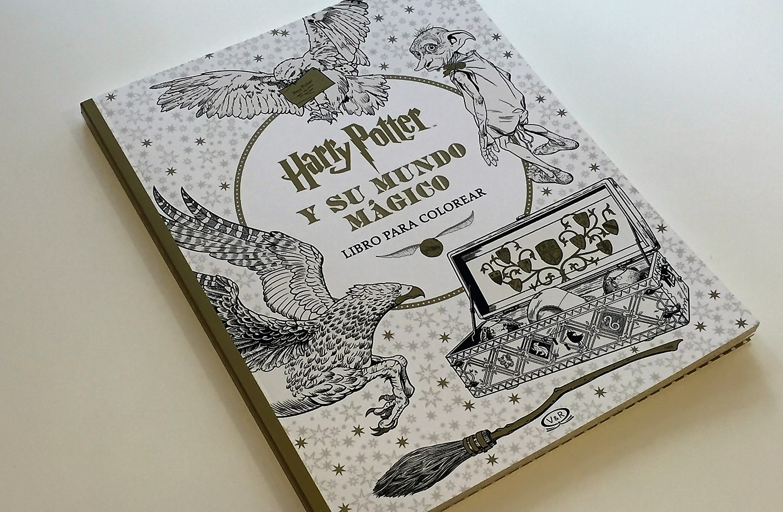 Paginas De Los Libros De Harry Potter Harry Potter Y Su Mundo Mágico Libro Para Colorear Ya