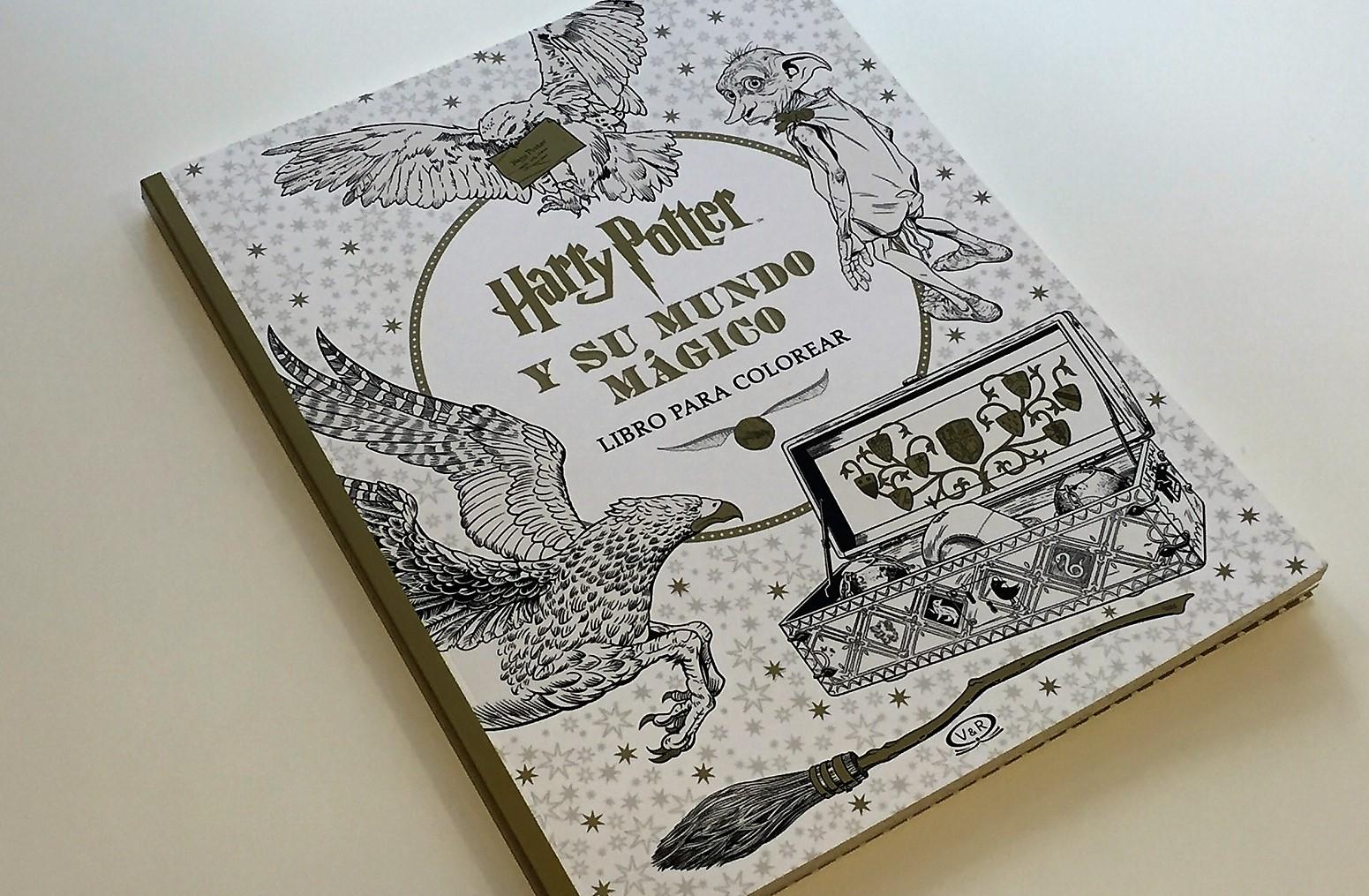 Harry Potter y su mundo mágico. Libro para colorear ¡Ya está en ...
