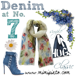 denim accessories by Mimi Pinto
