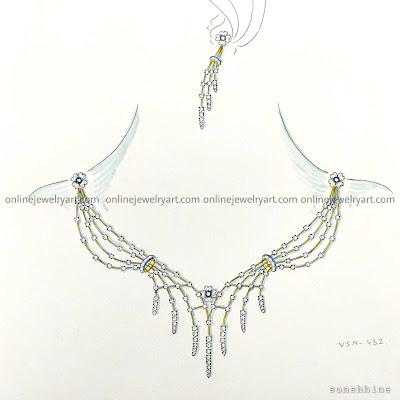 Diamond Necklace For Women