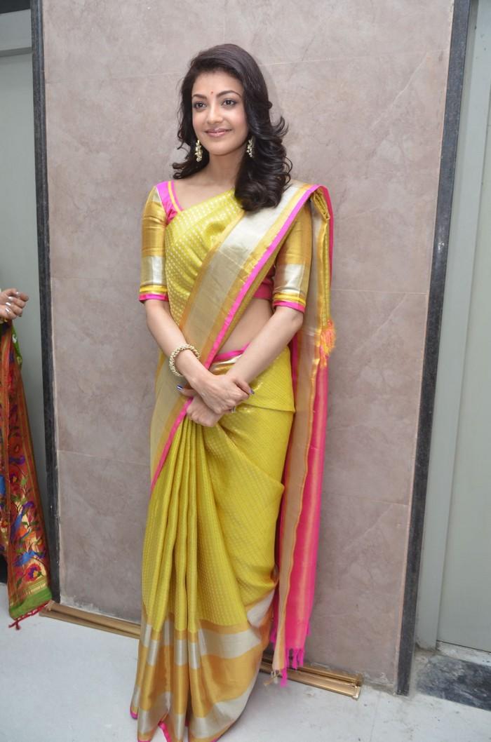 kajal aggarwal stills at trisha designer store launch in