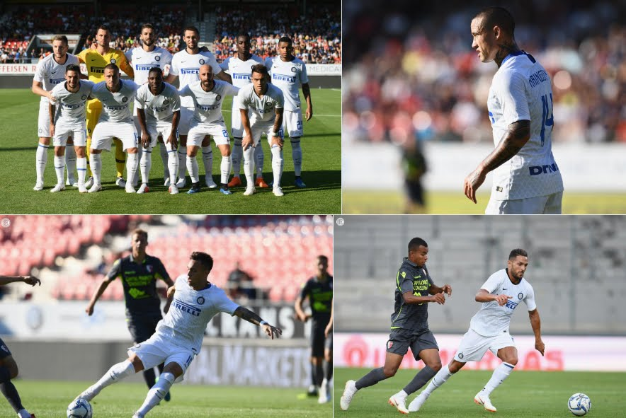 Il tabellino di Sion-Inter 2-0, video highlights su Sky Sport.