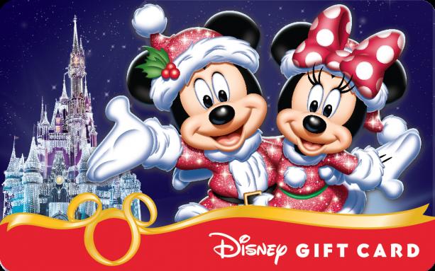 My Disney Gift Card Collection: 7 Christmas & Halloween My