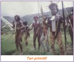 Contoh jenis tari tradisional adalah tari primitif