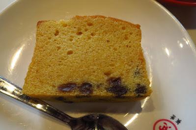 The Hainan Story Chapter One, rum & raisin butter cake