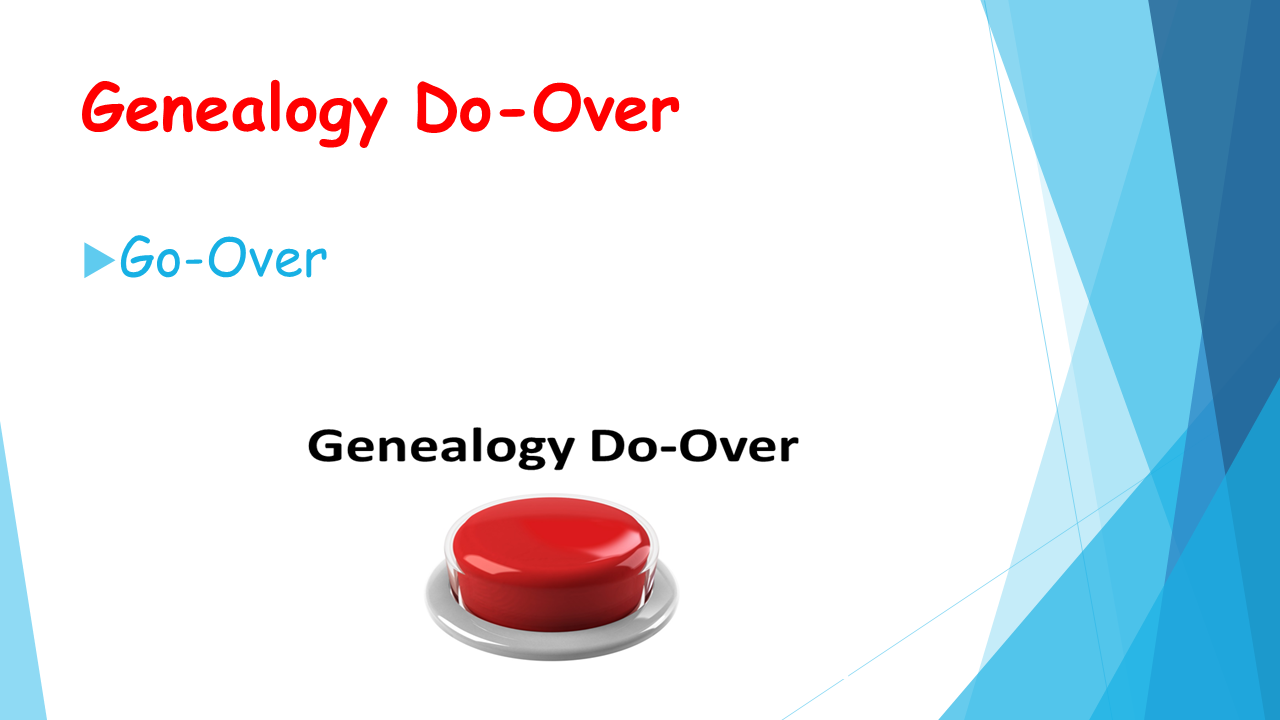 Family Tree Maker User: Genealogy Do-Over - MGP, EE, GPS (what's he