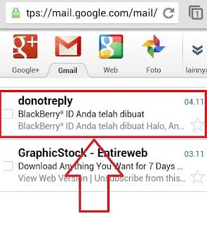 Email RIM di Android