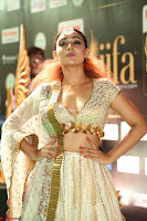 Apoorva Spicy Pics in Cream Deep Neck Choli Ghagra WOW at IIFA Utsavam Awards 2017 114.JPG