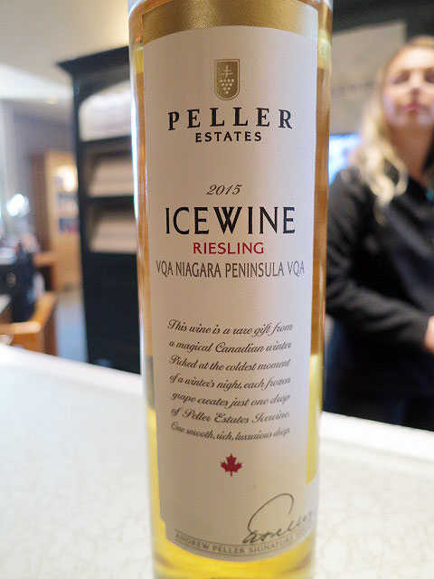 Peller Estates Signature Series Riesling Icewine 2015 (90 pts)