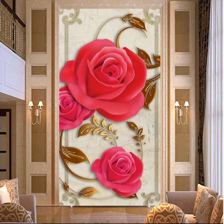 Tranh Bông Hoa hồng