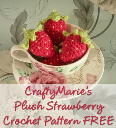 Mini Crochet Strawberry Pattern Free
