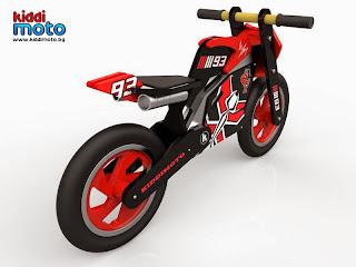 детски дървен мотор за балансиране Kiddimoto