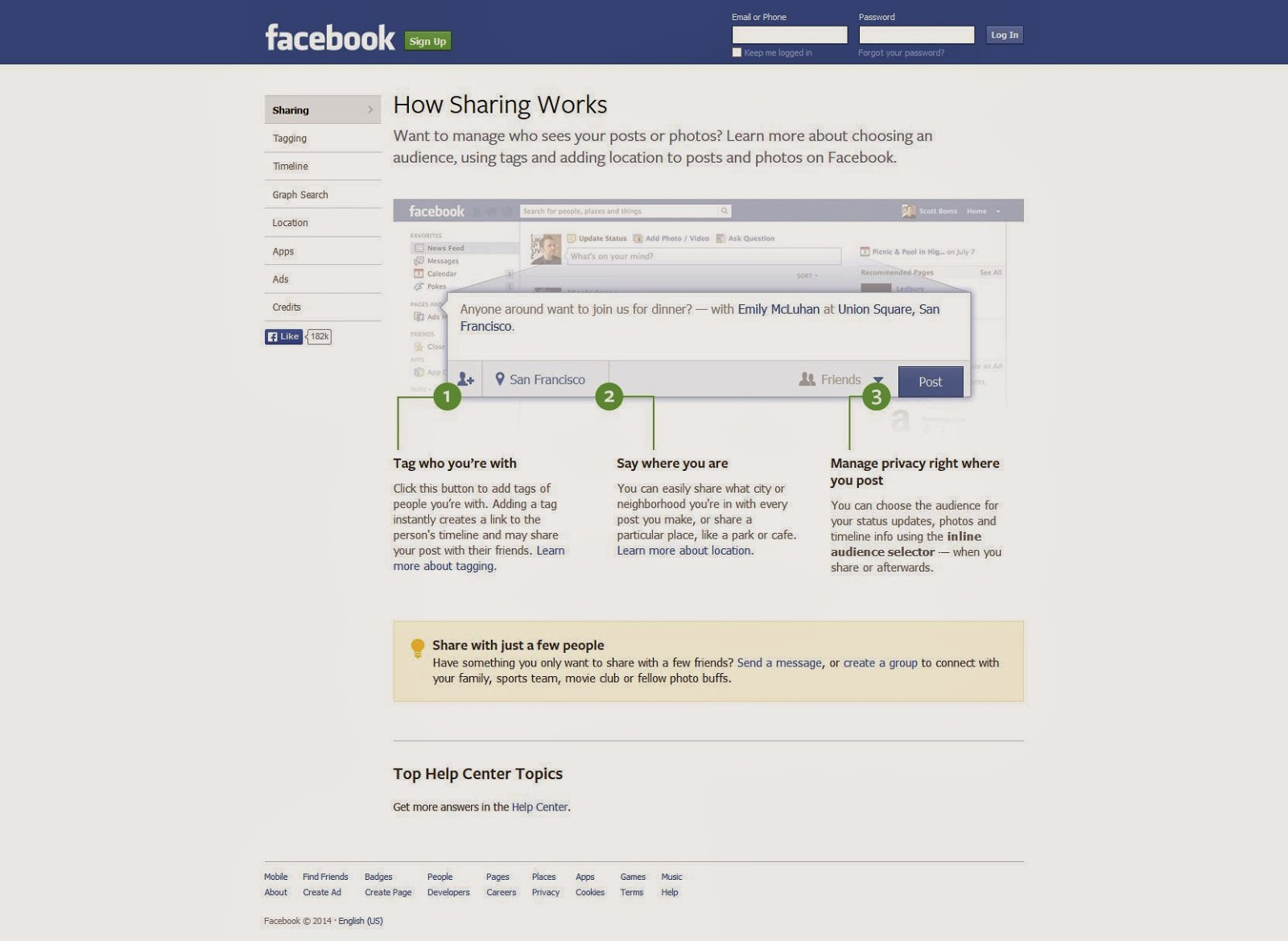 Welcome to Facebook - Log In, Sign Up or Learn More