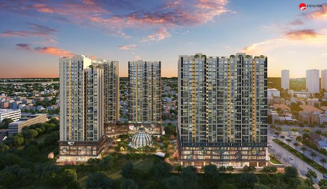 Thiết kế đẳng cấp của Hinode City Minh Khai