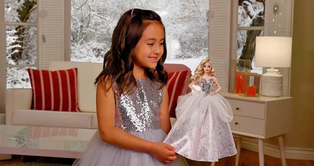 Новогодняя кукла Барби 2021 - 2022