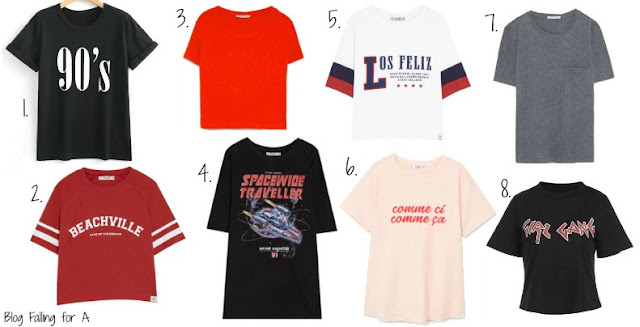 TOP 15 T-SHIRTS UNDER 15€ Blog Falling for A